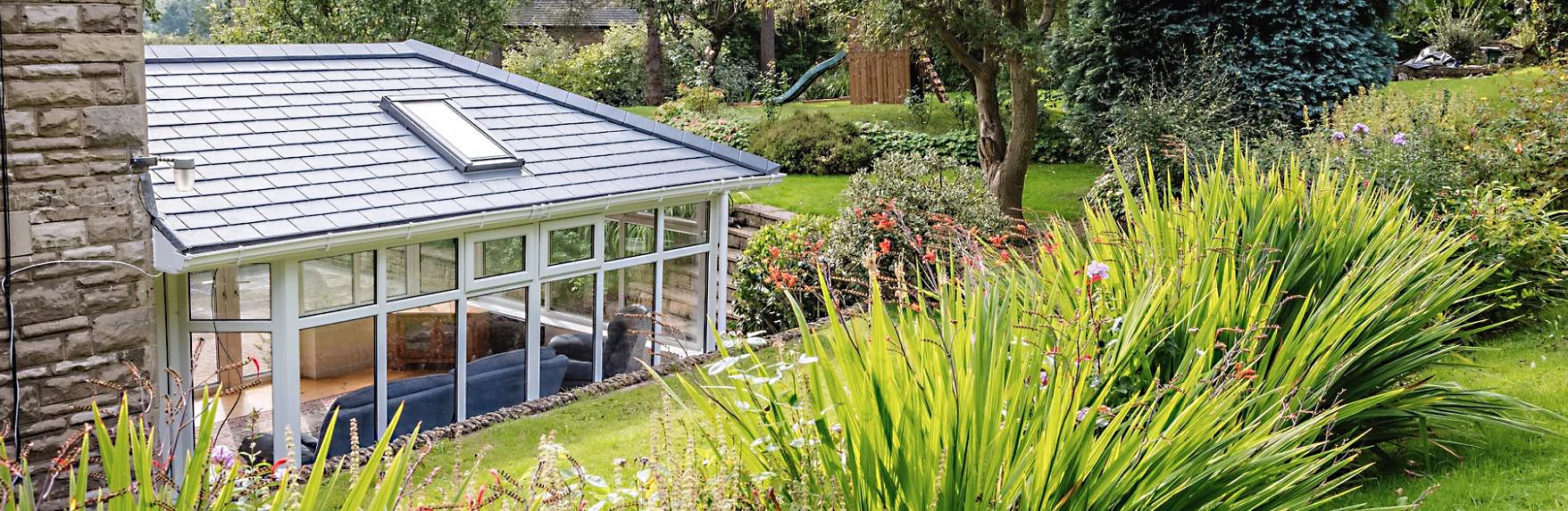 Equinox tiled conservatory roof replacement